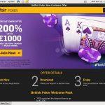 Betfair Poker Betsafe