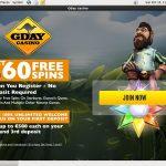 Gdaycasino Bonus Offer