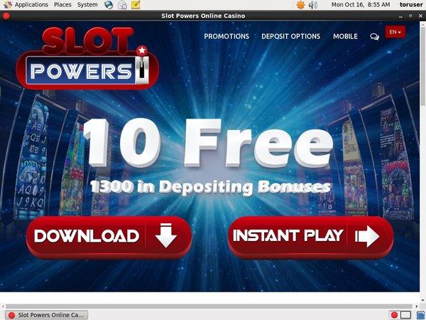 Slot Powers Casino Spel Online