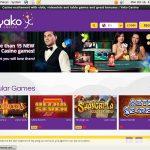 Yako Casino Spil Bonus
