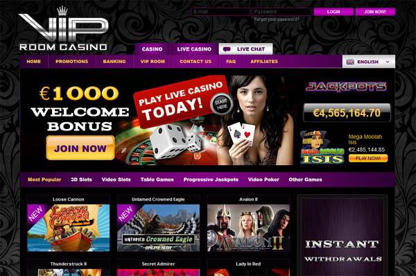 Free VIP Room Casino Bet