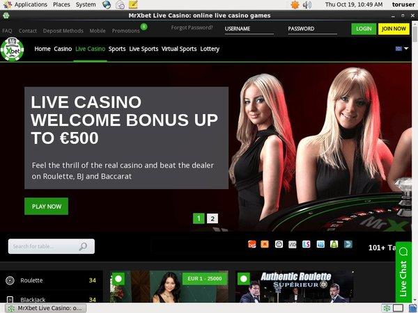Mr X Bet Online Slots