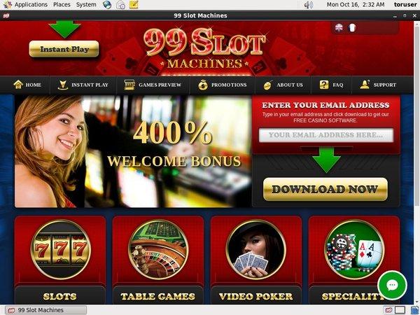 99 Slot Machines Freispiele