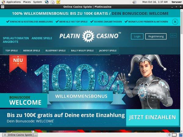 Platin Casino Upay