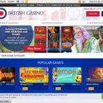 All British Casino Bonus Bet