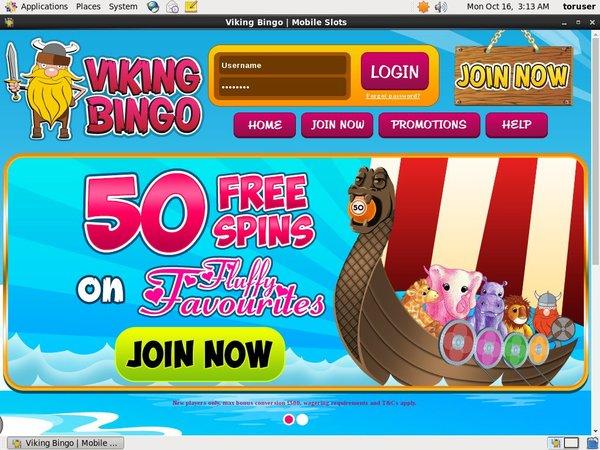 Viking Bingo New Player Bonus