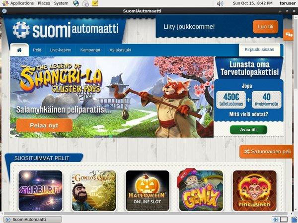 Suomiautomaatti Deposit Match