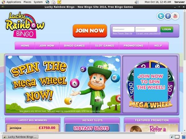 Luckyrainbowbingo Online Casinos