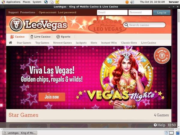 Free Bets Leo Vegas
