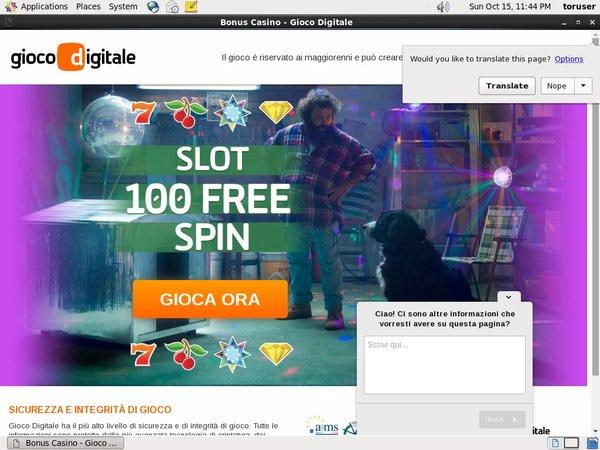 Giocodigitale Casino Uk