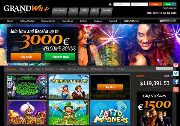 Grand Wild Casino Virtual Sports