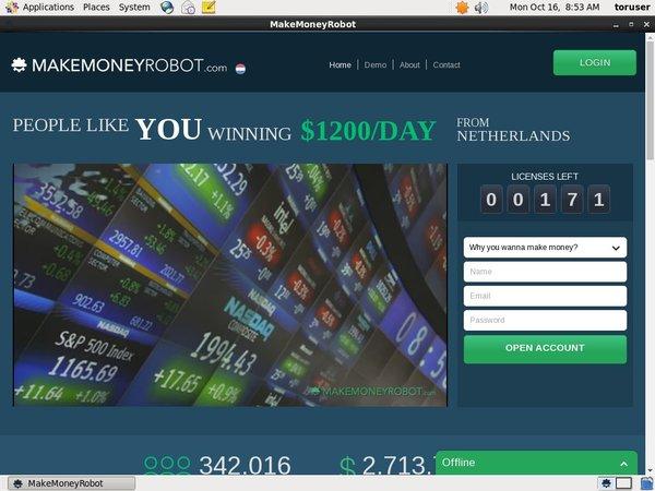 Make Money Robot Offer