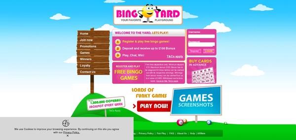 Bingo Yard Casinos Online
