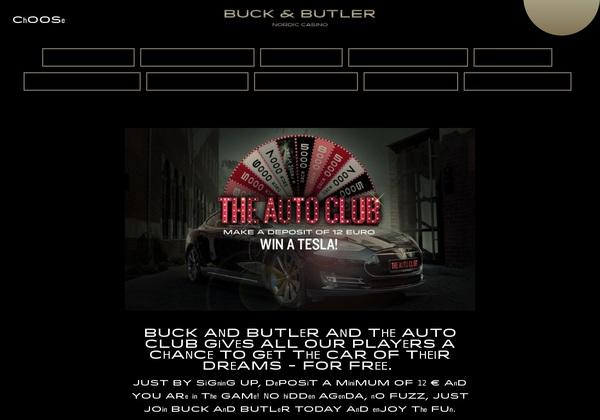 Buck And Butler Bonuskode