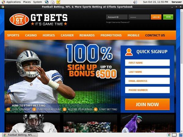 Gtbets Free Bonus Code